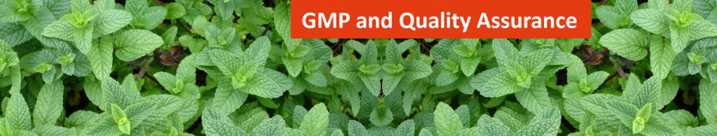 Dietary Supplement GMP Good Manufacturing Practices